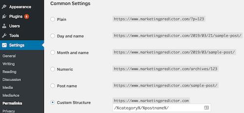 URL structure SEO optimization
